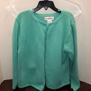 Gymboree Girls Sweater Size X-Large light Turq.